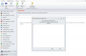 Wprowadzanie zapytanie SQL